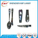 Ce, máquina de grabado del laser de la fibra de la ISO Ipg 20With30W para el carbón/el acero suave