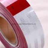 PUNTO cinta reflexiva del carro del diamante del grado rojo y blanco del C2
