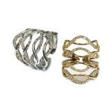 2017 3A 백색 CZ 금 도금 (R10687)를 가진 새로운 디자인 은 반지