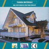 작은 집 빛 강철 구조물 조립식 가옥 OSB XPS 위원회 별장