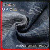 Голубая ткань джинсыов джинсовой ткани ткани полиэфира хлопка цвета