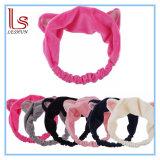 Heißes Verkaufs-Wäsche-Dusche-Hauptverzierung-elastisches Haar-Band-Stirnband