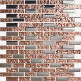 De metaal Gemengde Tegel van de Muur van het Mozaïek van het Glas (FY136)