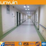 Suelo del PVC del pórtico, tablón del vinilo, azulejo del vinilo para el hospital