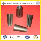 12.7mmおよび15.24mmのプレストレストケーブルのためのヘッドウェッジの強調