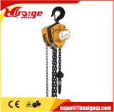 5 Ton Usado Construcción Manual de bloque de cadena de elevación para levantar y Tirar