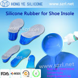 Borracha de silicone líquida de qualidade médica para produtos de calçado / palmilhas / calcanhares