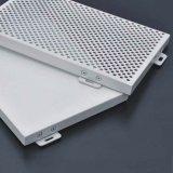 Panneau en aluminium perforé de feuille de revêtement