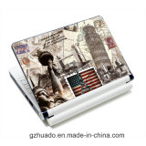 L'étiquette d'art de dispositif de couverture de collant de peau d'ordinateur portatif de qualité ajuste 10 13 15 17