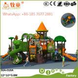 Напольное качание скольжения спортивной площадки для Preschool (WOP-046B)
