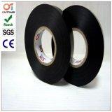 Fita elétrica plástica do PVC do adesivo preto