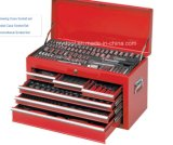 """la boîte à outils professionnelle de 126PCS 1/4 """" et 1/2 """" a placé (FY126A)"""