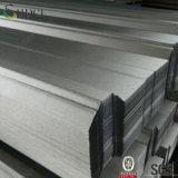 Feuille en acier enduite de toiture de couleur ondulée