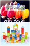 Corantes de madeira de cor vermelha ecológicos