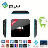 Più nuovo PRO Octa Android privato 6.0 Amlogic S912 3G/16g Kodi 17.0 WiFi doppio 1000m della casella di memoria TV del modello T96