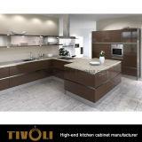 最もよい台所デザインは食器棚Tivo-0206Vをカスタマイズした