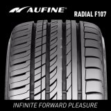 Neumáticos radiales del coche del Semi-Acero superior chino de la marca de fábrica con los surcos profundos de la pisada