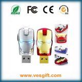 最も新しい正義リーグ英雄の鉄の人USBのフラッシュ駆動機構
