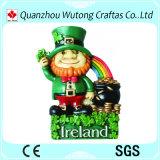 수지 기념품 자석 북아일랜드 특징 귀여운 작은 조상 디자인 수지 냉장고 자석