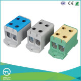 Conetor do bloco terminal da distribuição da montagem do trilho do RUÍDO Jut10-50