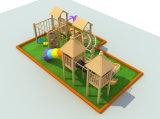 Spielplatz-hölzerne Kind-Dschungel-Gymnastik-Spiele, zum außerhalb des Spielplatzes zu spielen