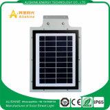 luz de calle solar integrada del alto lumen de la fábrica 5W