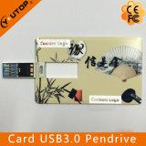Kundenspezifischer Flash-Speicher der Firmenzeichen-Kreditkarte-USB3.0 (YT-3101-3.0)