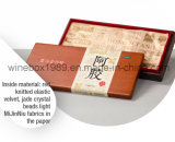 Eco-friendly Rectangle MDF Rubber Wood Health Care Foodstuff Box