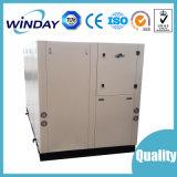 Refrigerador refrigerado por agua del desfile del tornillo de Winday Industral 40HP