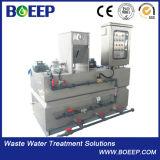 Automatisches Polymer-Plastik, das System für Abwasserbehandlung dosiert