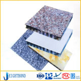 ファイバーガラスの建築材料のための合成の石造りの大理石アルミニウム蜜蜂の巣のパネル