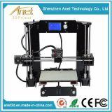 Uitrusting van de Printer van Anet DIY 3D voor juwelen die Toebehoren Dubbele Extruder aanbieden 3D Printer Kickstarter Ce/FCC/SGS Vertification