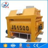 2016 nuevo tipo fabricación principal en el mezclador concreto de China Js1500
