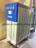O secador do ar comprimido para remove a impureza e molha-a