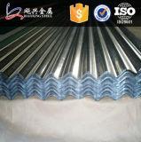Materia prima di qualità principale per il disegno ondulato dello strato del tetto del metallo