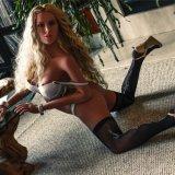Кукла секса силикона большой девушки Vagina куклы 158cm влюбленности груди искусственной реалистическая
