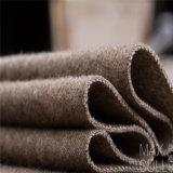 Wollen/Baumwollgewebe für Herbst-oder Winter-Mantel in kakifarbigem