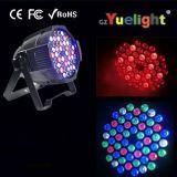 Indicatore luminoso della fase chiara di PARITÀ di prezzi di fabbrica 4in1 RGBW 54 LED