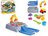 Brinquedo plástico da praia da areia dos miúdos ajustados do jogo do verão (H1336165)
