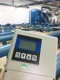 Type fendu débitmètre électromagnétique pour la boue, eaux d'égout, eaux résiduaires
