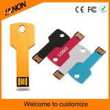 로고 인쇄를 가진 다채로운 중요한 모양 USB 섬광 드라이브