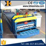 機械装置を作るKxd 1080カラー鋼鉄屋根ふきによって艶をかけられるタイル