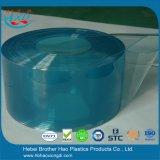 Rideau bleu-clair lisse polaire Rolls en PVC de plastique vinyle