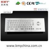 """Teclas de forma """"U"""" IP65 Kiosk Metal Keyboard com Trackball (KMY299J-5)"""