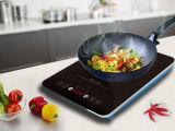 Kooktoestel van de het glasETL 120V het super slanke Inductie 1500W van het titanium voor de Markt van de V.S.
