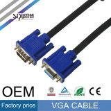 Cavo dell'audio del cavo del VGA di alta qualità 3+2 di Sipu M/M M/F