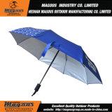 parapluie 21inch*8K 3folding de publicité en acier automatique