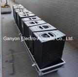 Q1 verdoppeln Methoden-im Freienstadiums-Lautsprecher eine 10 Zoll-2, Zeile Reihen-System, Neodym-Fahrer