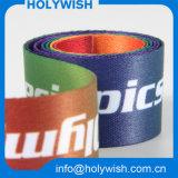 Les accessoires bon marché de vêtement ont enveloppé la bande avec le logo fait sur commande