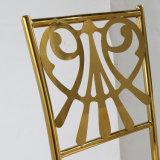 Grossist-moderner speisender Edelstahl-Stuhl für Quanquet oder Form-Hauptdekoration